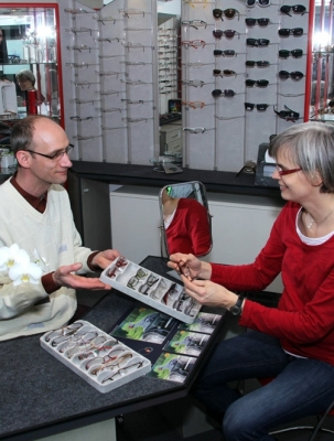 u.a. besuchte man Havelland-Optik