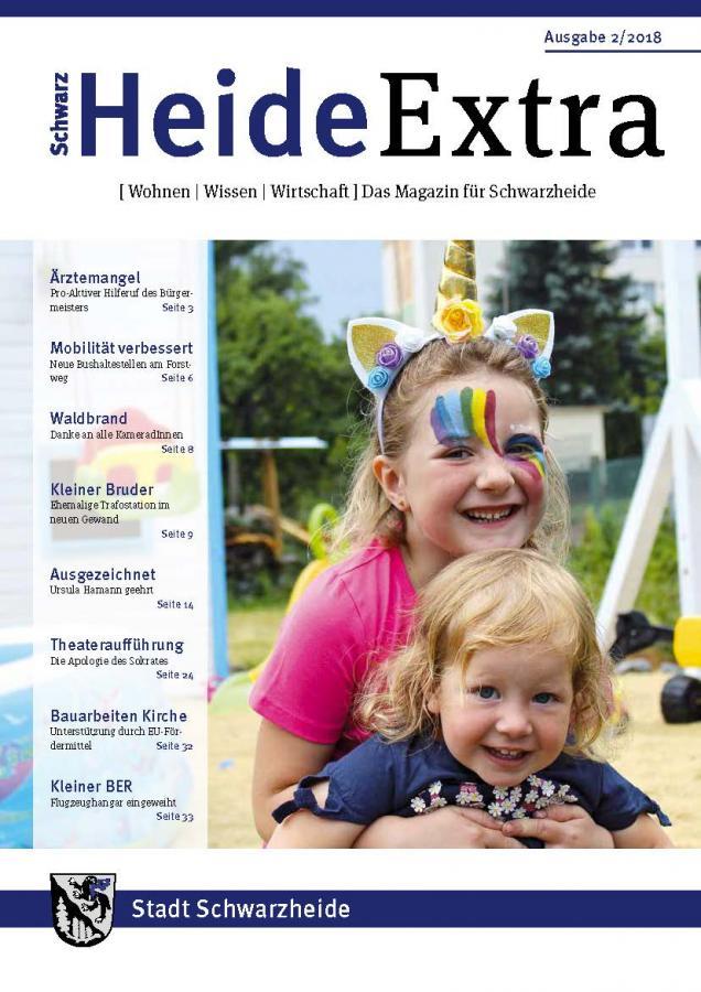 Titelseite Heide Extra 02/18