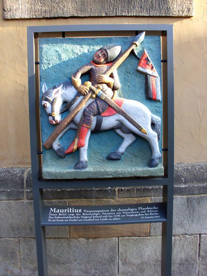 Relief des Heiligen Mauritius