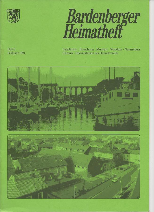 Titelseite Heft 8/1994