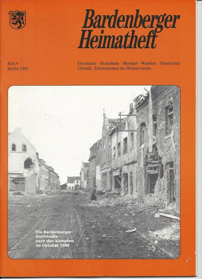 Titelseite Heft 9/1995