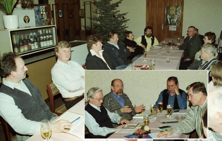 Fotomontage der Gründungsveranstaltung (Foto: Foto-Wünsche)