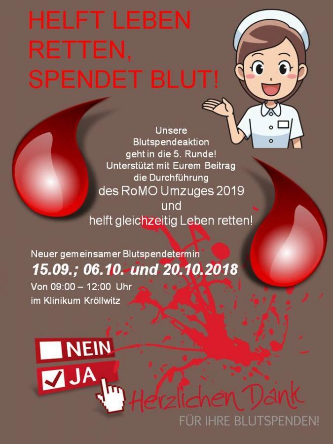 Blutspendeaktion herbst 2018