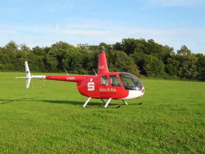 Helikopterflüge in Konrode
