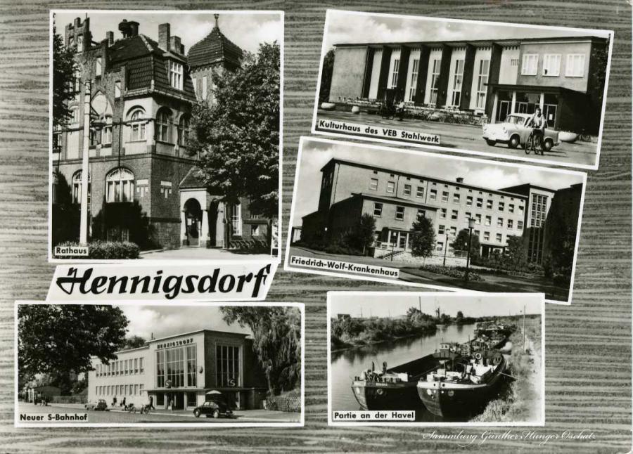 Hennigsdorf Neuer S-Bahnhof