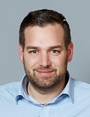 Sozialarbeiter Henrik Vogt