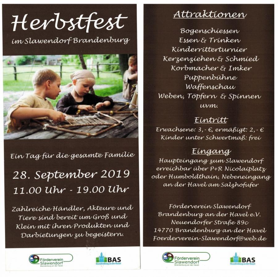 Herbstfest Slawendorf 2016
