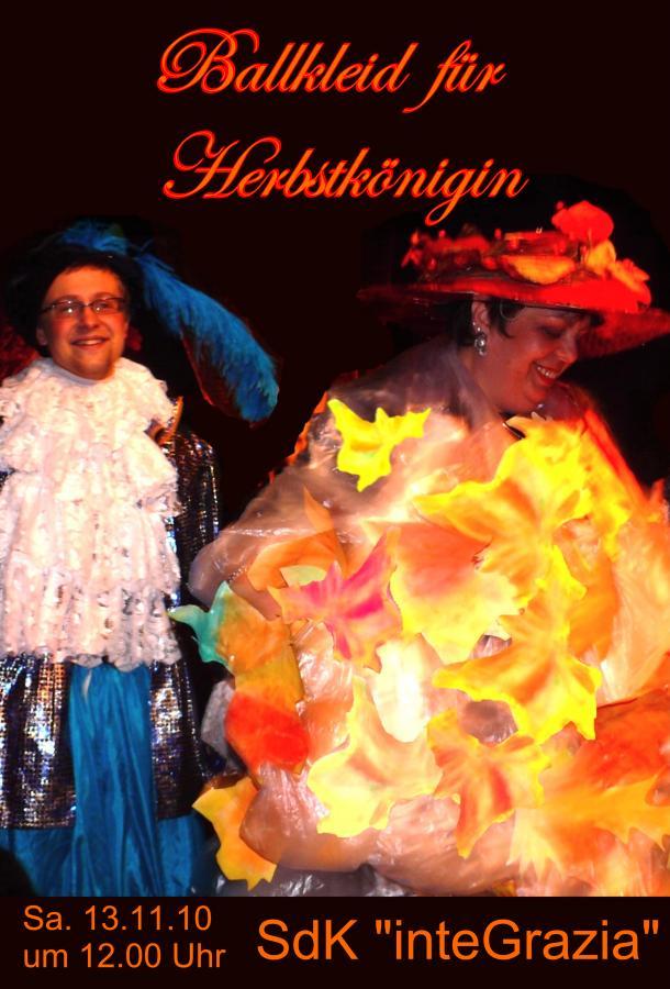 2010 Ballkleid für Herbstkönigin