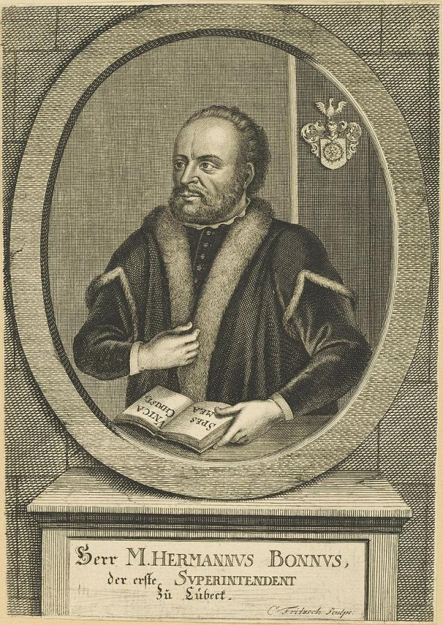 Hermann Bonnus von Christian Fritzsch
