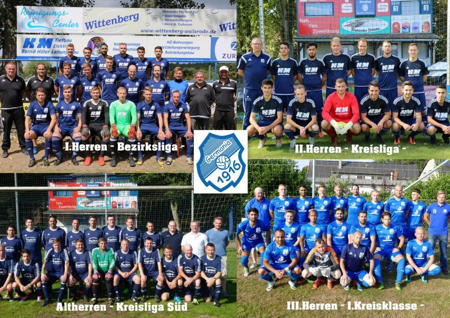 Herren-Mannschaften 2018-19