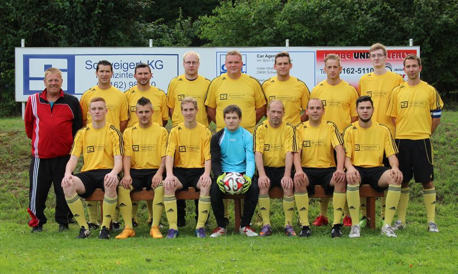 Herrenmannschaft Saison 2015/2016
