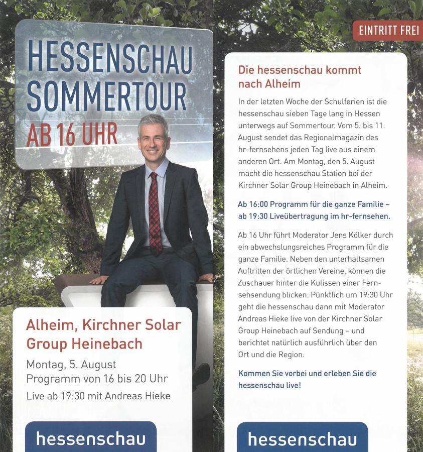 Hessenschau Sommertour 05.08.19