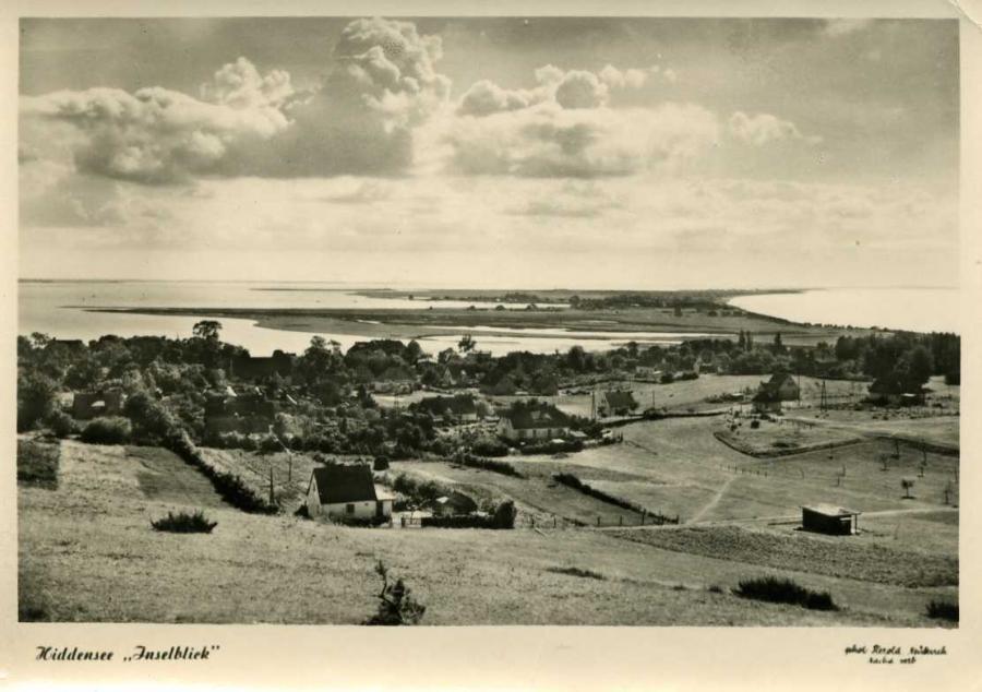 Hiddensee- Inselblick