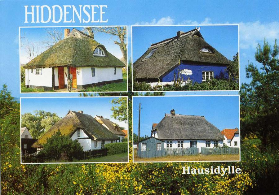 Hiddensee Hausidylle