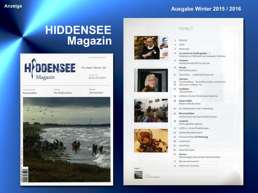 Hiddensee Magazin