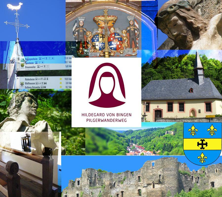 Hildegard von Bingen  --  Pilgerwanderweg