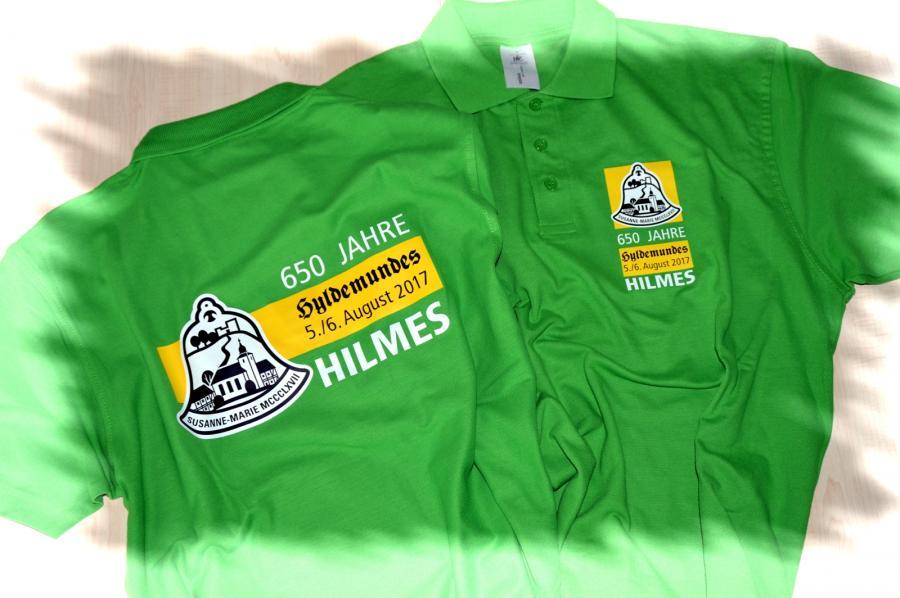 "Shirts ""650 Jahre Hilmes"""