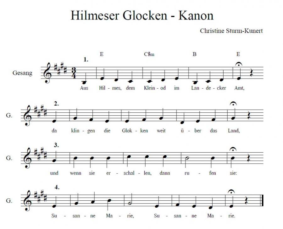 Hilmeser Glocken - Kanon
