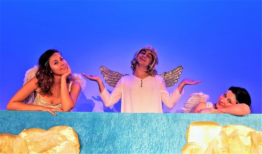 Himmel drei Engel für Mortimer
