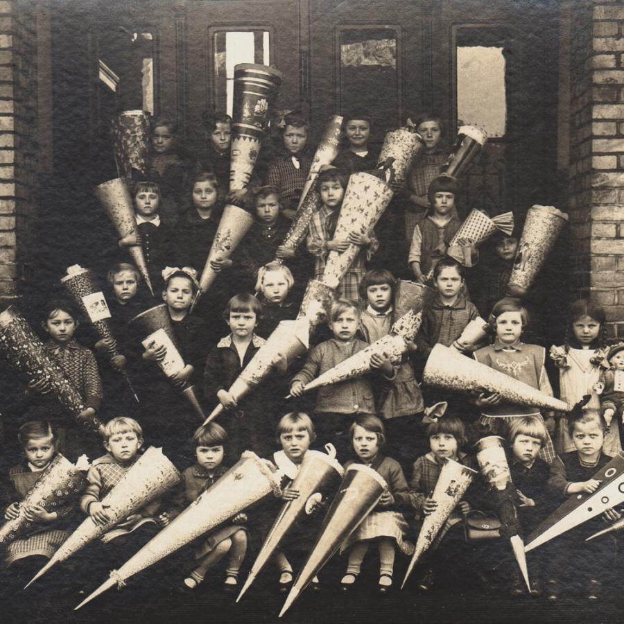 Historisches Klassenfoto_Sammlung Museum OSL