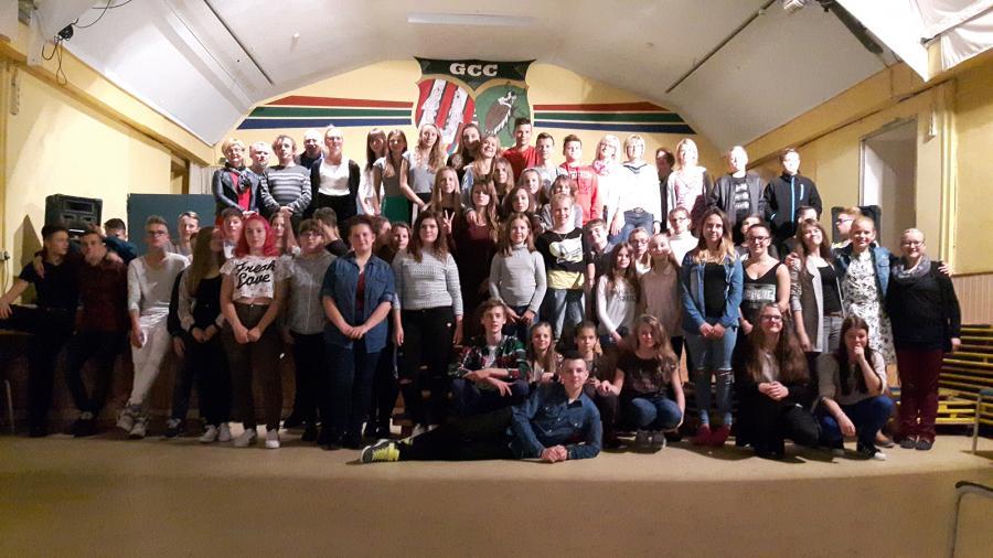 Abschlussbild vom Jugendaustausch 2016