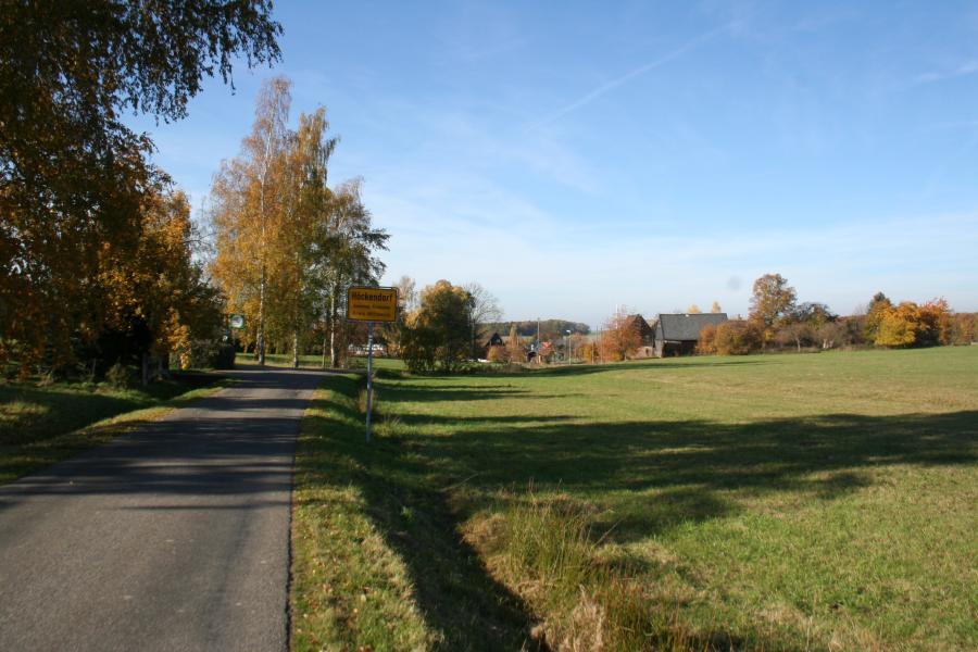 Ortseingang Höckendorf