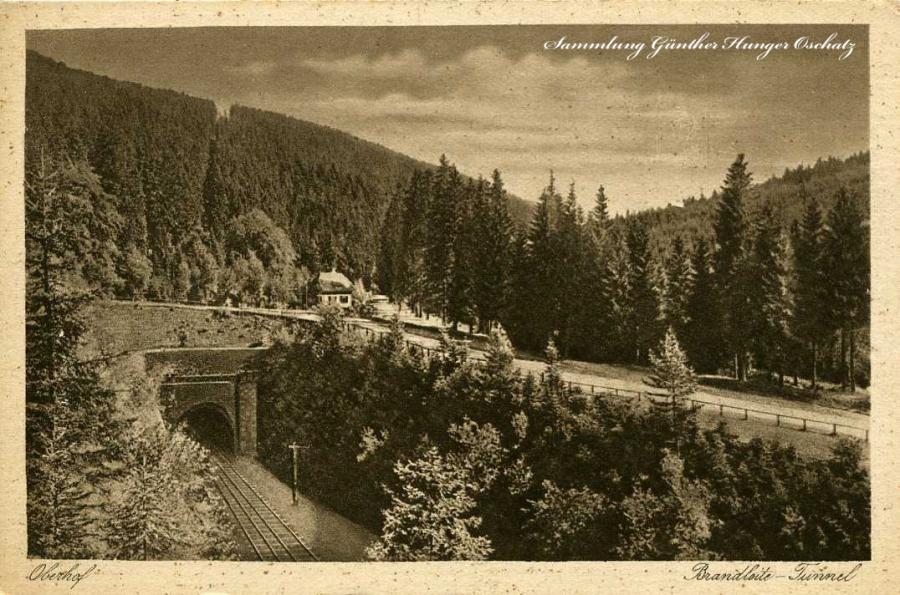 Höhenluftkurort Oberhof Brandleite -Tunnel