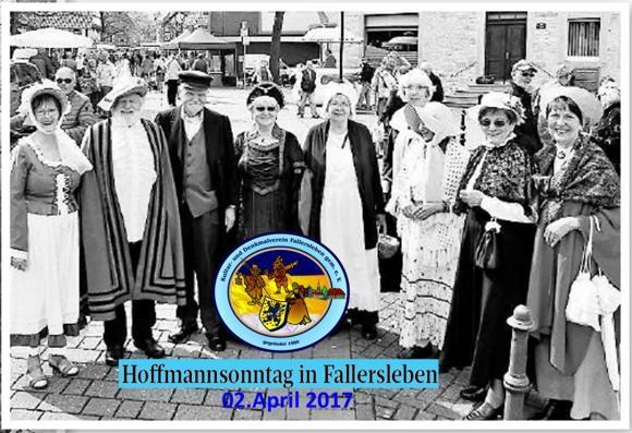 Theatergruppe beim Hoffmannsonntag 2017