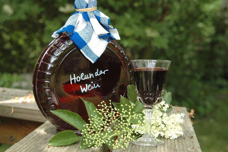 Holunderwein