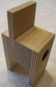 Holz-System-Halter