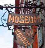 Museumsschild