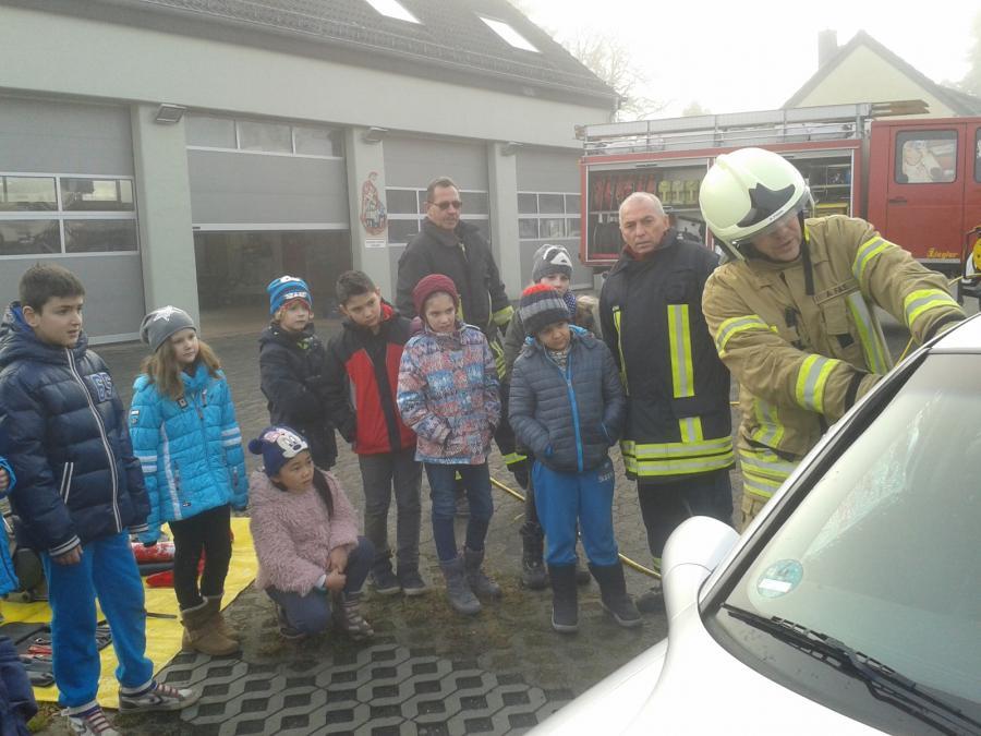 Besuch Feuerwehr 2016