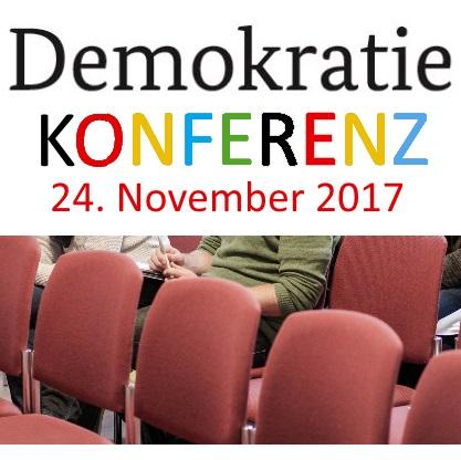 Demokratiekonferenz 2017 Bild