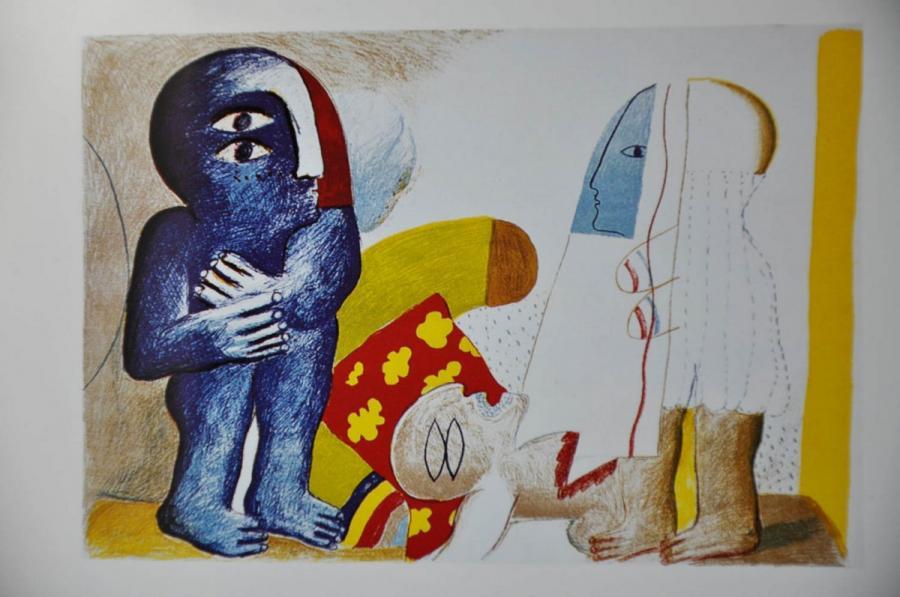 """Bis 13. Oktober 2019 beherbergt die Kunstgalerie eine Sonderausstellung zu moderner Kunst aus der Sammlung Muthmann mit dem Titel """"Von Pssau bis Paris"""""""