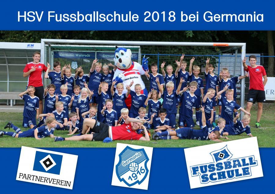 HSV-Fussballschule 2018 bei Germania