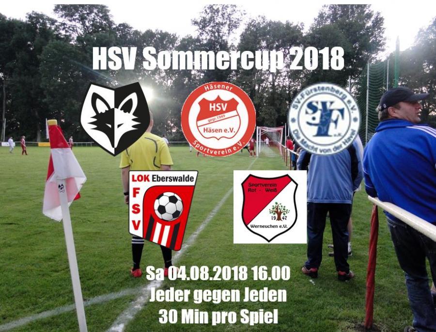Teilnehmer HSV Sommercup