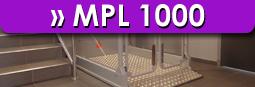 Hubbühnen MPL 1000 Aufzug LuS