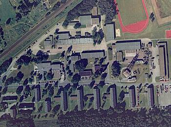 Hülsmeyer-Park zur Zeit der militärischen Nutzung