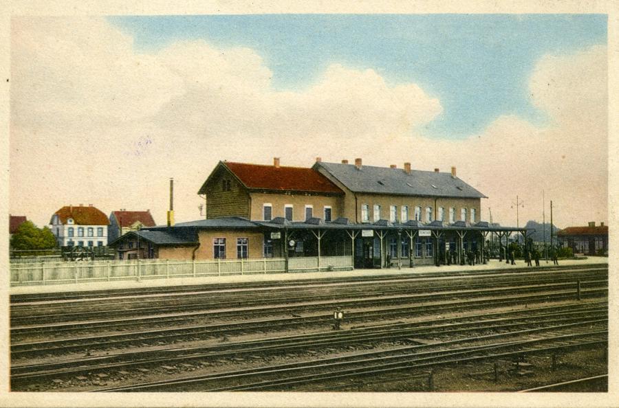 Bahnhof ca. 1918
