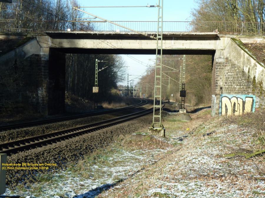 Eisenbahn Brücke Wasserstraße 2012