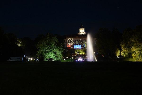 Blick auf das Schloss, Foto: Reik Schröder
