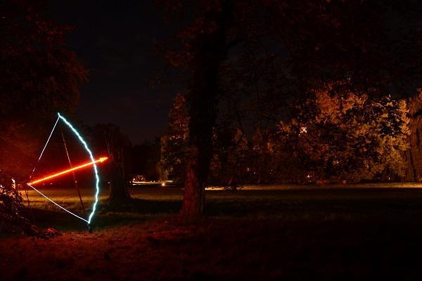 Der Schütze war eins der auffälligeren Sternzeichen. Foto Reik Schröder