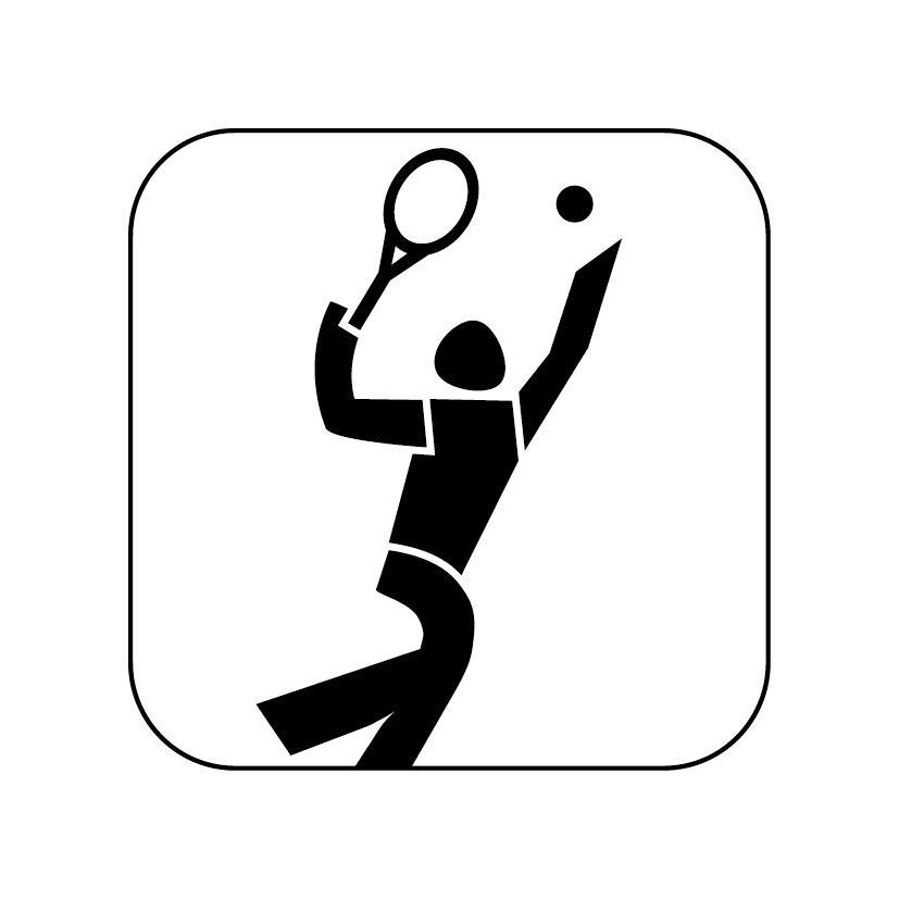 Tennispiktogramm