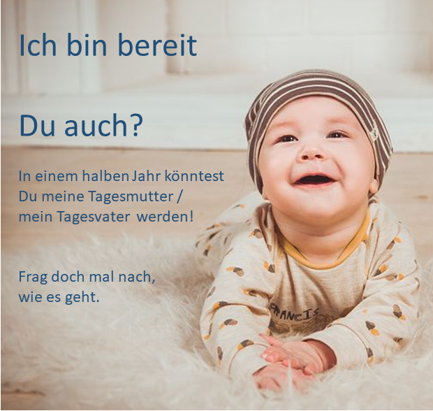 Ideen Tagesmutter / Tagesvater