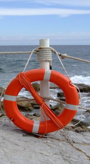 Der beste Rettungsring: Die Bereitschaft, das eigene Thema anzupacken