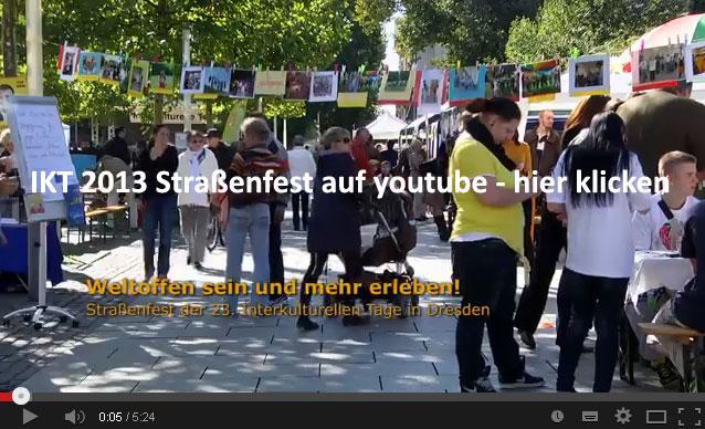 Impressionen Straßenfest Film