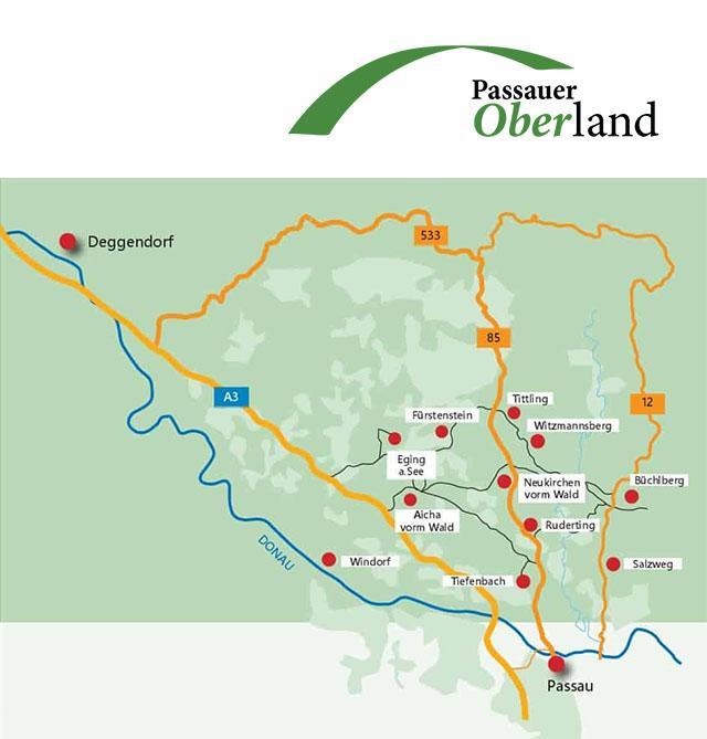 ILE Passauer Oberland Karte