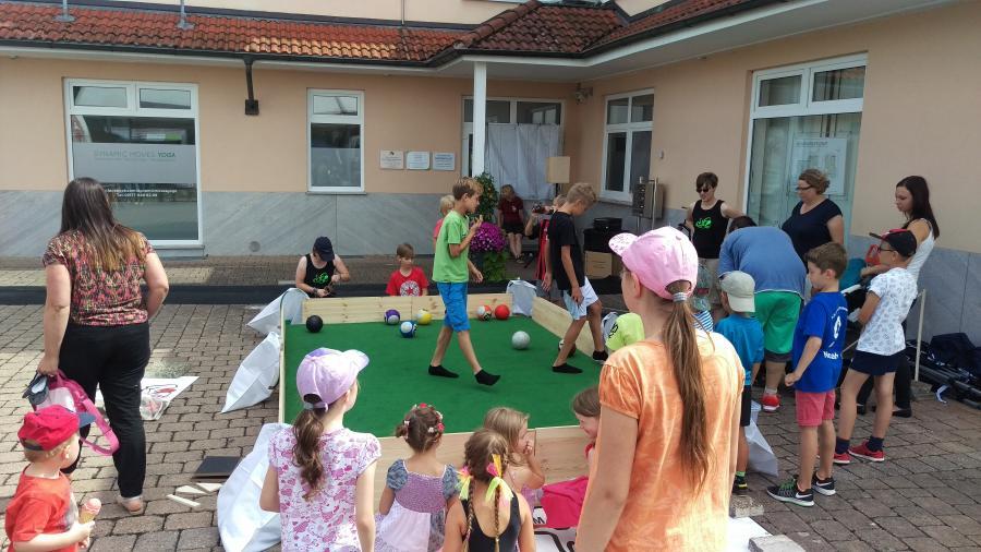 Soccer-Billard Rathausfest