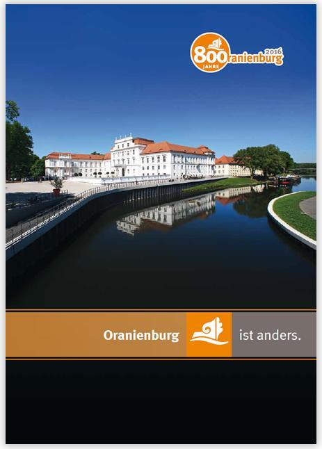 Imagebroschüre der Stadt Oranienburg online lesen ...