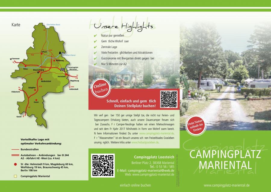 Imageflyer Campingplatz 2018